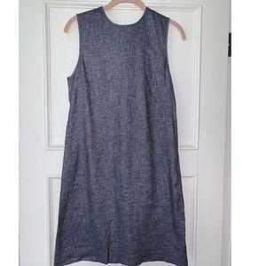 Theory Adraya Denim A-Line Dress